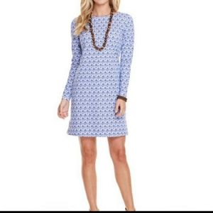 Vineyard Vines Printed Long Sleeve Dress Size XXS